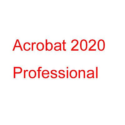 ◤全新品 含稅 免運費◢ Acrobat 2020 Professional 專業盒裝版(永久授權版)