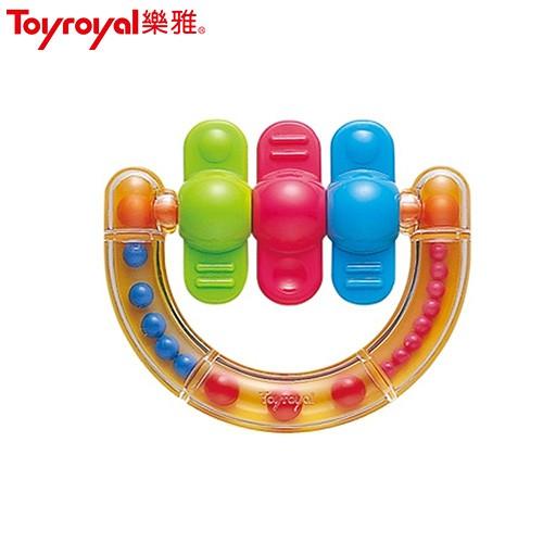 日本《樂雅 Toyroyal》經典半環型手搖鈴