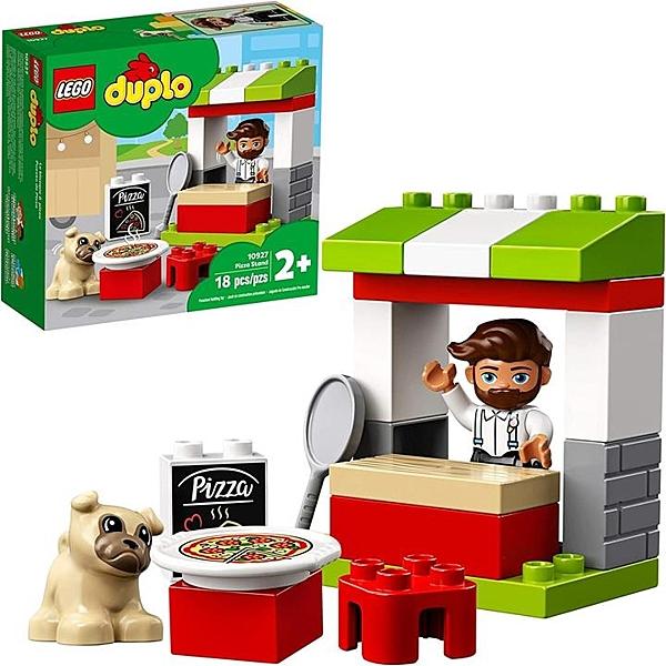 LEGO 樂高 DUPLO Town Pizza Stand 10927假裝幼兒比薩套裝 (18個)
