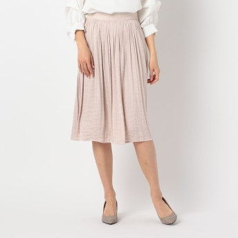 NOLLEY'S(ノーリーズ)/ドレープサテンスカート