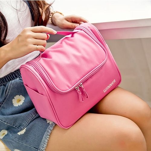ins旅行大容量洗漱包 便攜式網紅同款化妝包 收納包