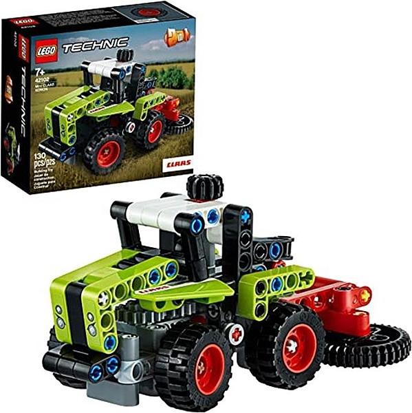 LEGO 樂高 Technic Mini CLAAS XERION 42102玩具拖拉機組裝套件 (130件)