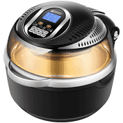 松井10L 3D熱旋智能空氣炸鍋 曜石黑 SG-1000DT-B
