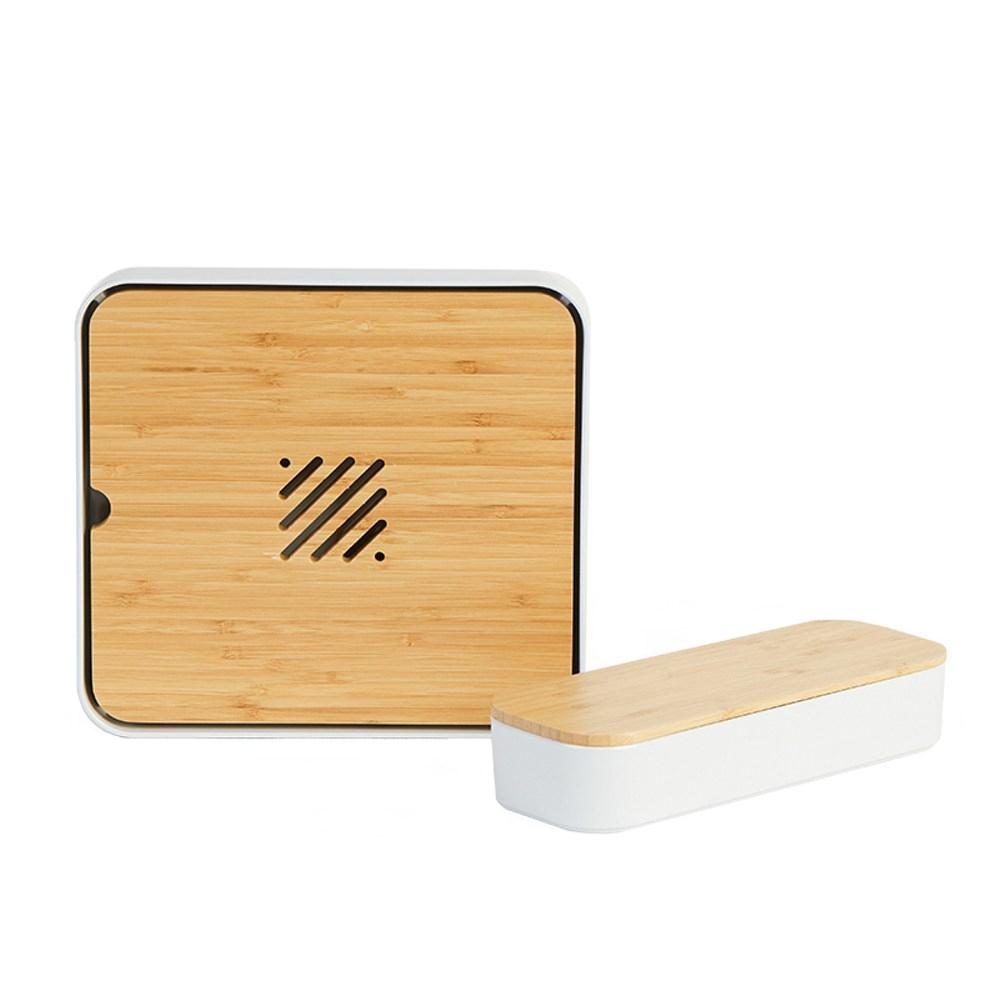 竹品創意日式茶具托盤-一套兩件 經典款