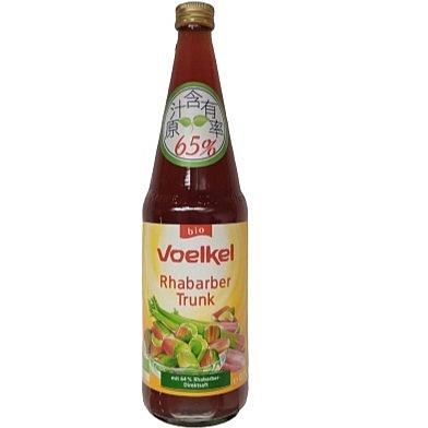 (即期品) Voelkel 維可 有機大黃汁 700ml/瓶 效期至2021.09.25