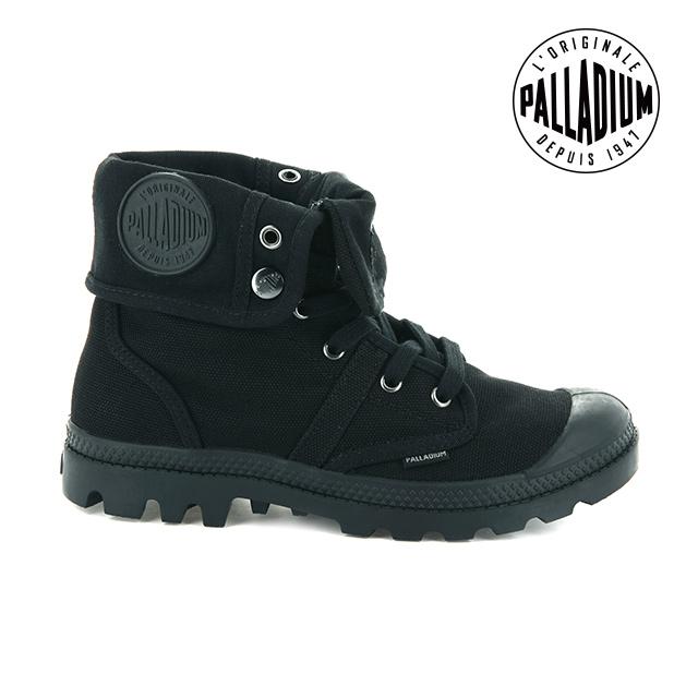 Palladium PALLABROUSE BAGGY帆布靴-女-黑