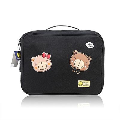 護照包證件收納包盒家用家庭多層大容量多功能箱證書文件護照卡包整理袋 【快速】