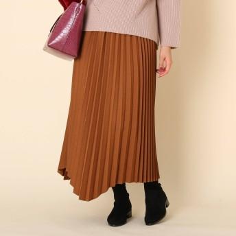 Couture Brooch(クチュールブローチ)/【手洗い可】ランダムプリーツスカート
