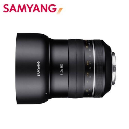 限時特價優惠【韓國SAMYANG】XP Premium 85mm F1.2 手動對焦鏡頭(公司貨 CANON)