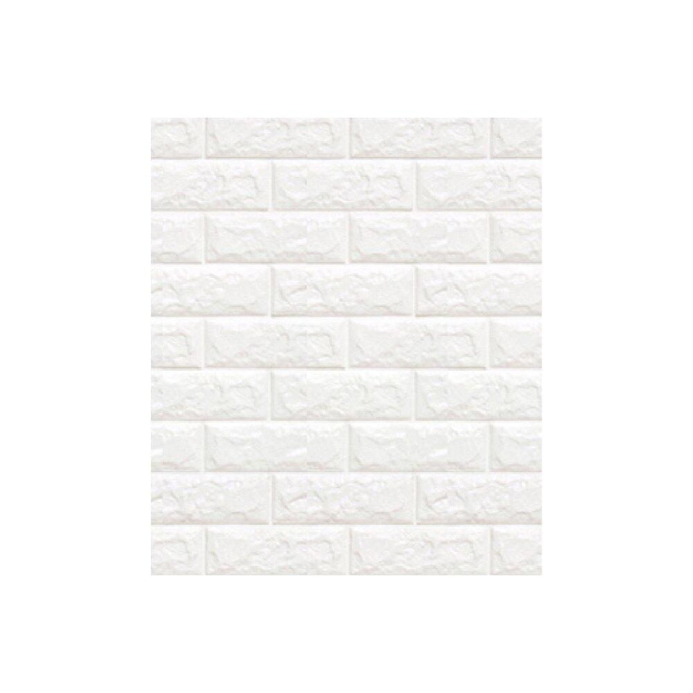 【12H台灣出貨】3D立體壁貼-可水洗 隔音/自黏/壁紙/仿壁磚/牆貼/隔音泡綿/牆紙仿磚紋3D壁貼【DE210】