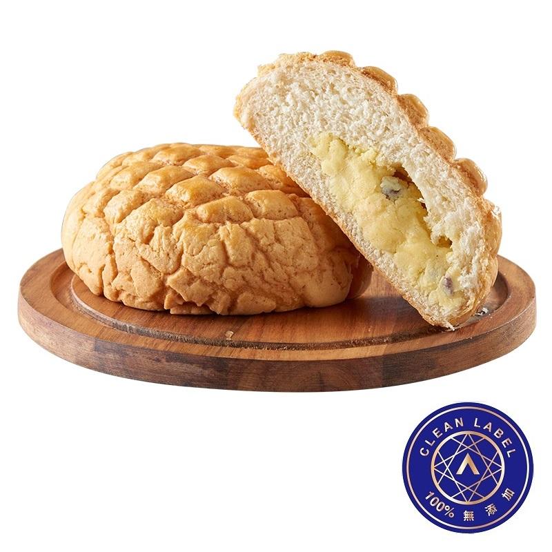 奶酥大波蘿麵包(AA無添加驗證:100%無添加)
