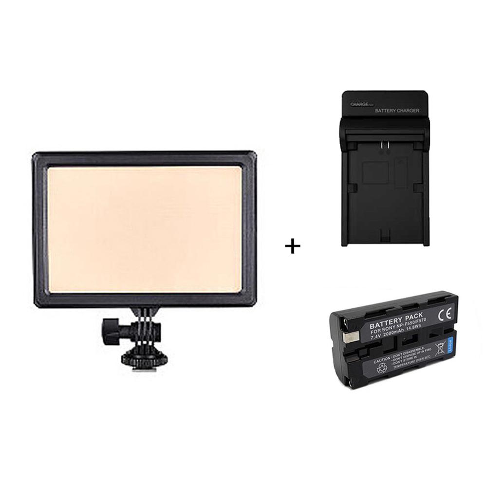 NANGUANG 南冠/南光 Luxpad23H LED 攝影燈 + 電池 充電器 套組 同LumiPad 11
