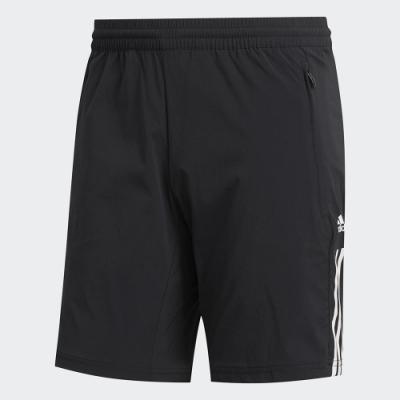 adidas 短褲 運動 休閒 健身 訓練 男款 黑 GJ5109 MUST HAVES 3-STRIPES SLIM