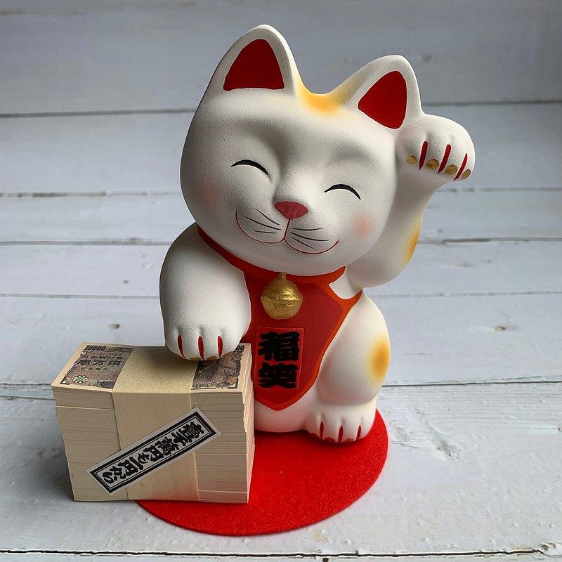 笑福招財貓 存錢筒