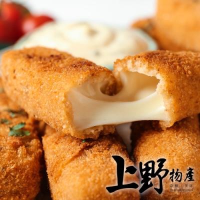 (滿899免運)【上野物產】香濃莫札瑞拉乳酪條 (1000g±10%/約36條/包)x1