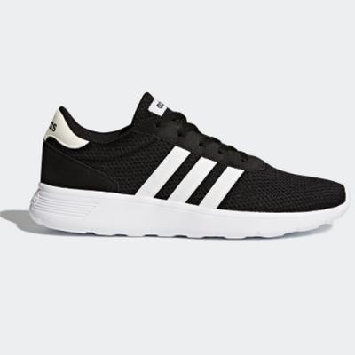adidas 休閒鞋 運動 透氣 男鞋 黑 BB9774 ADIDAS LITE RACER