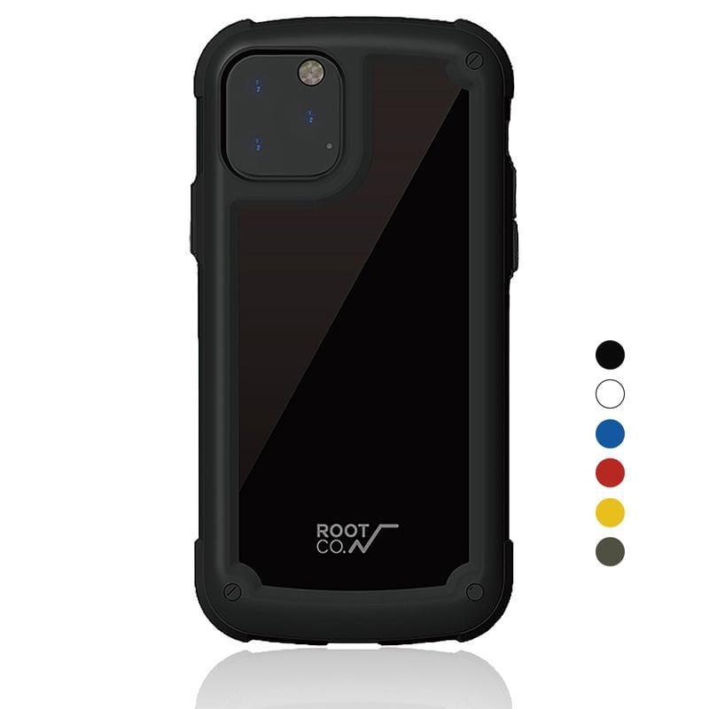 iPhone 11 Pro Tough & Basic 透明背板軍規防摔手機保護殼 - 共六色 藍色