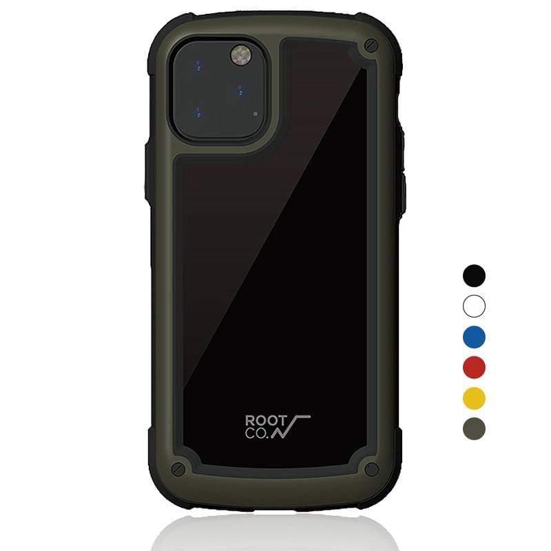 iPhone 11 Pro Max Tough & Basic 透明背板軍規防摔手機保護殼 - 共六色 黃色