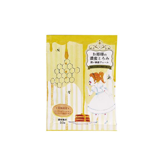 日本-小久保 公主入浴劑 拉拉公主的故事沐浴鹽-柔滑蜂蜜(1包/ 50g)