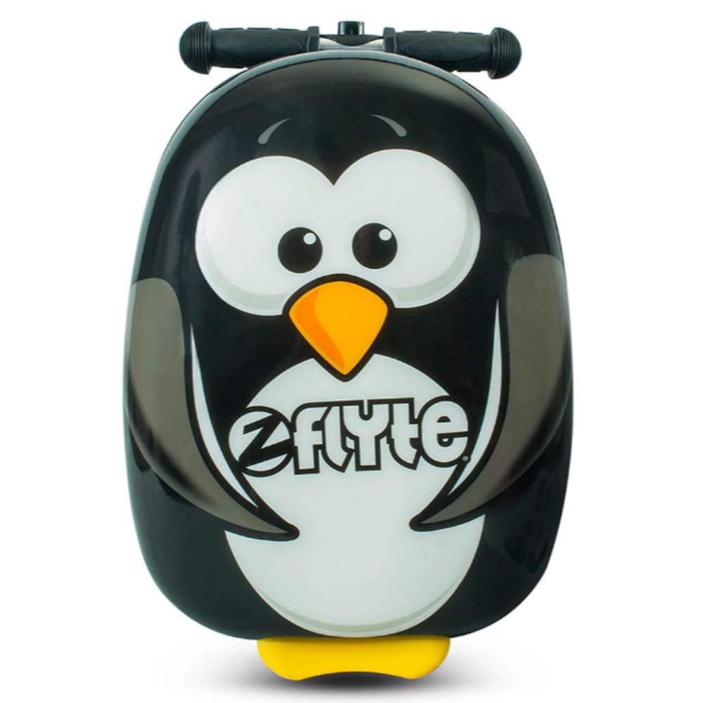 【Zinc Flyte】18吋多功能滑板車行李箱-波西企鵝