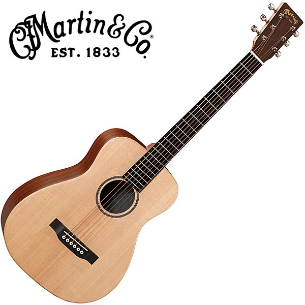 Martin LX1 嚴選錫特卡雲杉單板小馬丁吉他 - 附琴袋/原廠公司貨