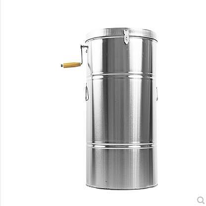 搖蜜機 搖蜜機小型家用手動304不銹鋼自動甩糖機中蜂養蜂工具蜂蜜打糖機 晶彩
