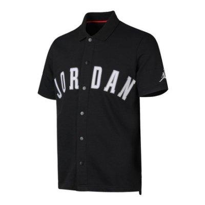 南 2019 5月 NIKE AIR JORDAN AJ1111-010 棒球上衣 黑白色 棒球TEE AJ 棒球外套