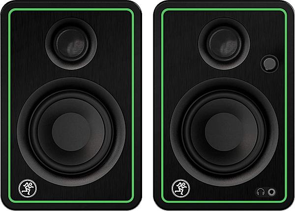 美國MACKIE新款CR4-X錄音室級50W監聽多媒體喇叭/附Pro Co升級線材(公司貨)