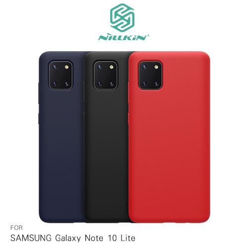 NILLKIN SAMSUNG Galaxy Note 10 Lite 感系列液態矽膠殼