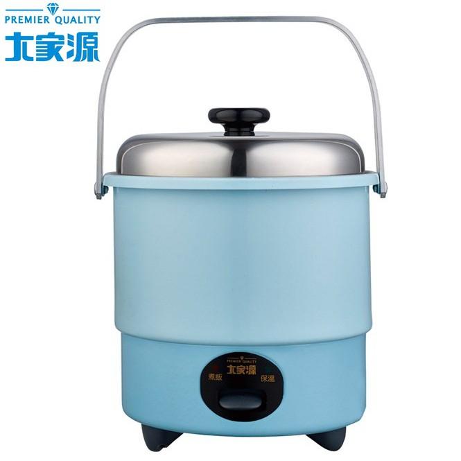 大家源 三人份 / 0.6公升 多功能 不鏽鋼電鍋 304不鏽鋼內鍋 蒸盤 TCY-3263