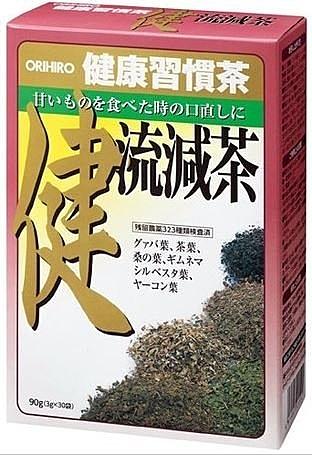 日本【ORIHIRO】健流減茶 30包