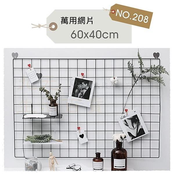 【九元生活百貨】NO.208 萬用網片/60x40cm 網格 網架 吊籃搭配 PE網片