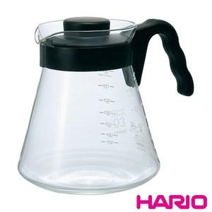 【HARIO】V60好握02黑色咖啡壺1000ml VCS-03B