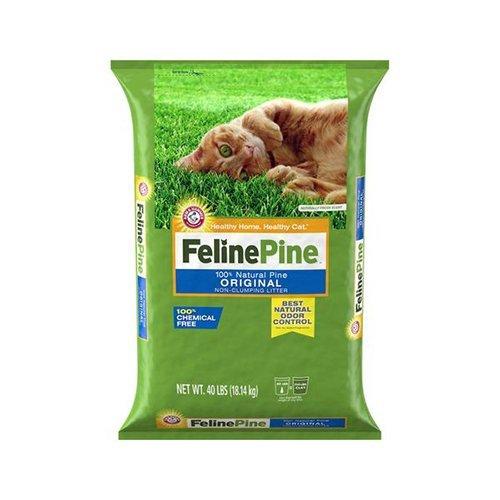 美國健康班比 FELINE PINE 松木砂-除臭力吸水力超強 20磅 貓砂【單包】『WANG』