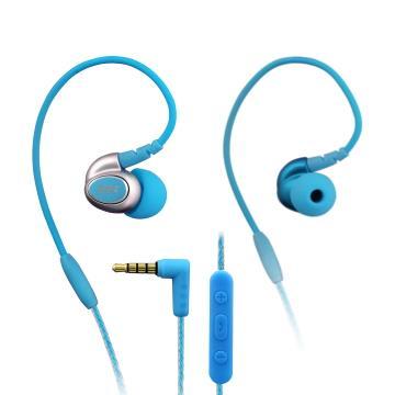 INTOPIC 多功能舒適型耳機麥克風-藍(JAZZ-I80-BL)