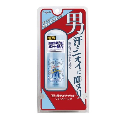(現貨)日本製Deonatulle殿堂級消臭石止汗膏20g 男用薄荷 腋下止汗膏 腋下足部除臭 2倍除臭效果加強版