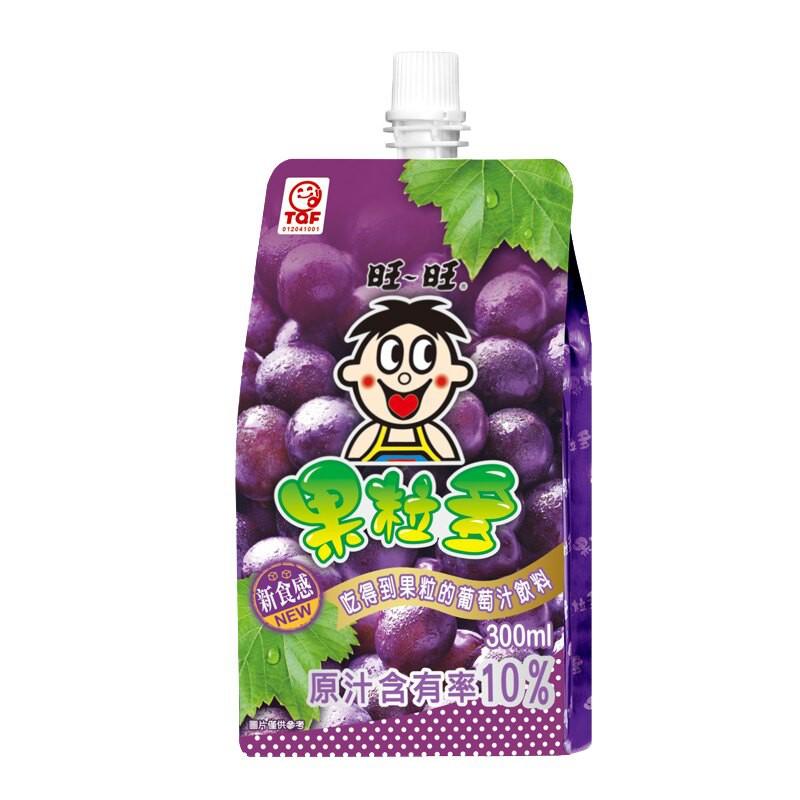 旺旺果粒多葡萄汁飲料300ml【康鄰超市】