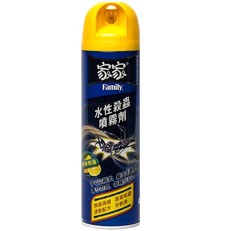 家家水性殺蟲劑(天然檸檬精油)550ml