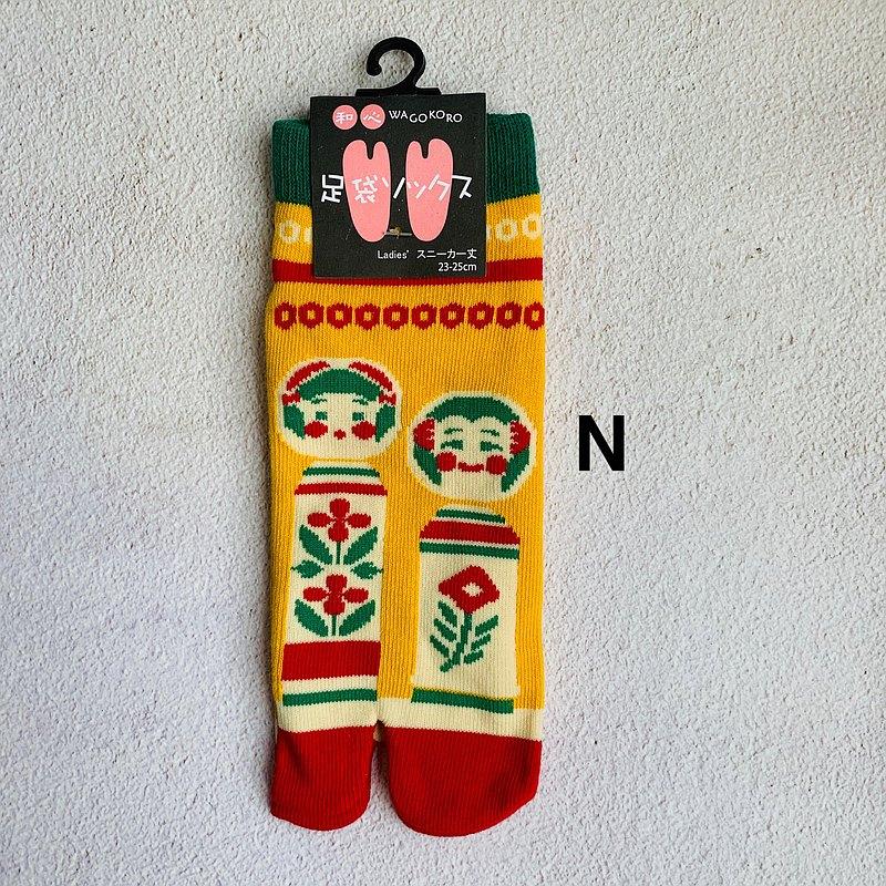 足袋襪 兩指襪-N人形娃娃-日本和心WAGOKORO品牌