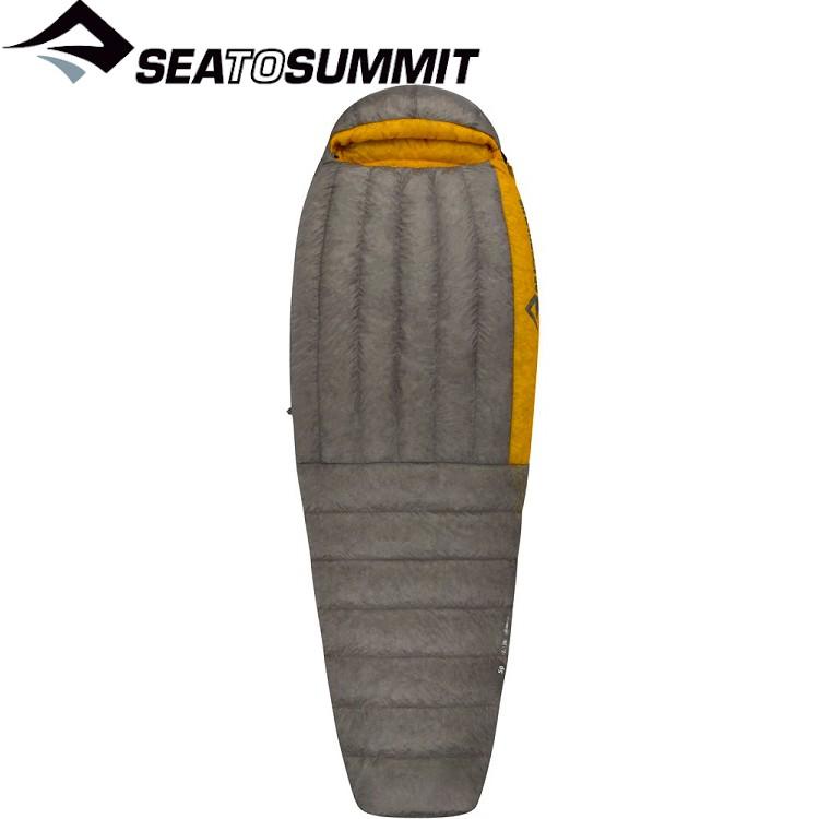 Sea to Summit Sp2極輕暖鵝絨睡袋 R (4~-2℃.左開) STSASP2-R 深灰