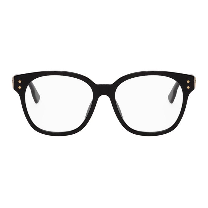 Dior 黑色 DiorCD1F 眼镜