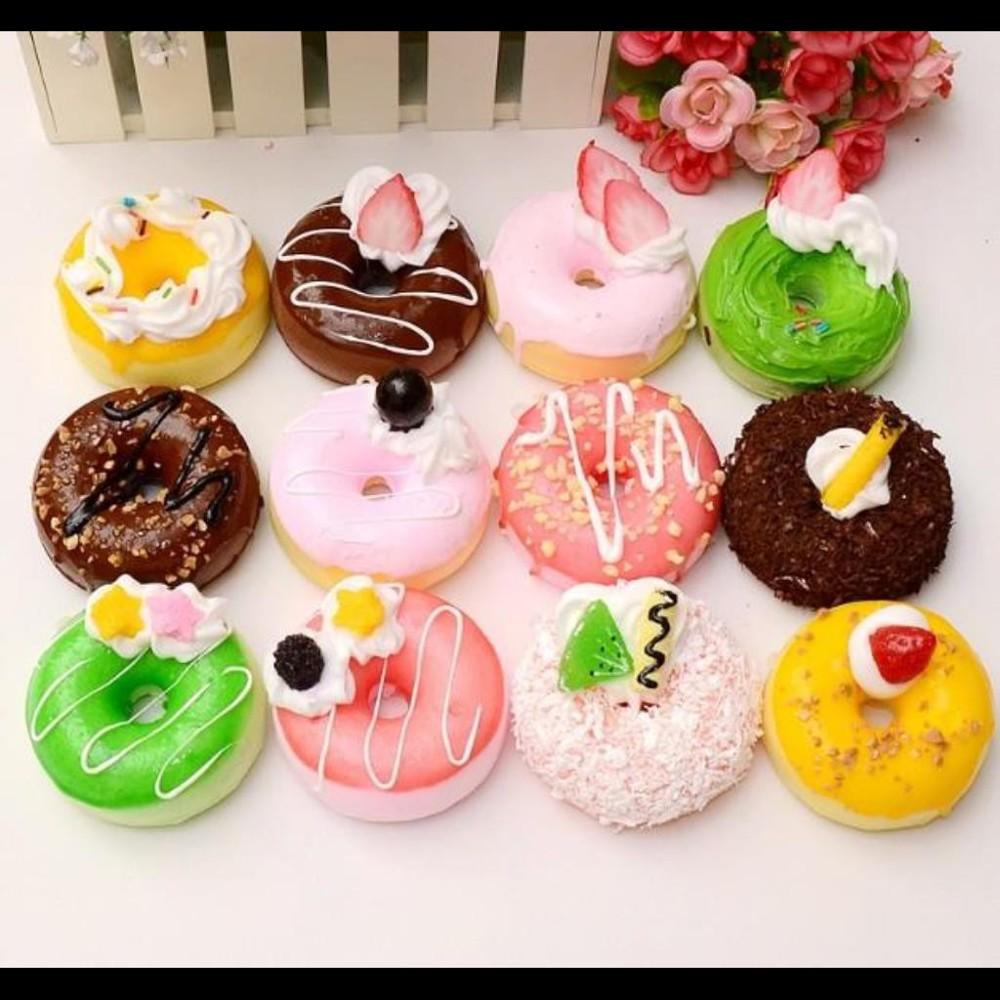 仿真食物模型道具甜甜圈蛋糕擺件玩具(單個價喔)