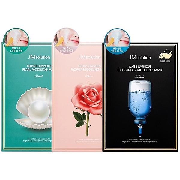 韓國 JMsolution 軟膜(5入盒裝) 款式可選 【小三美日】 果凍/凝膠/面膜