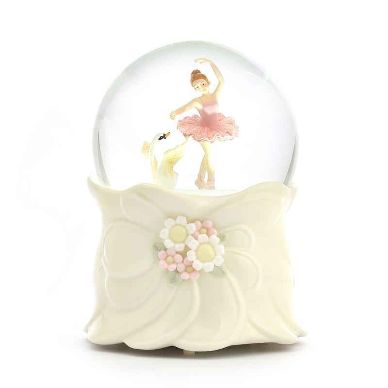 哈比屋 芭蕾女孩 水晶球音樂盒
