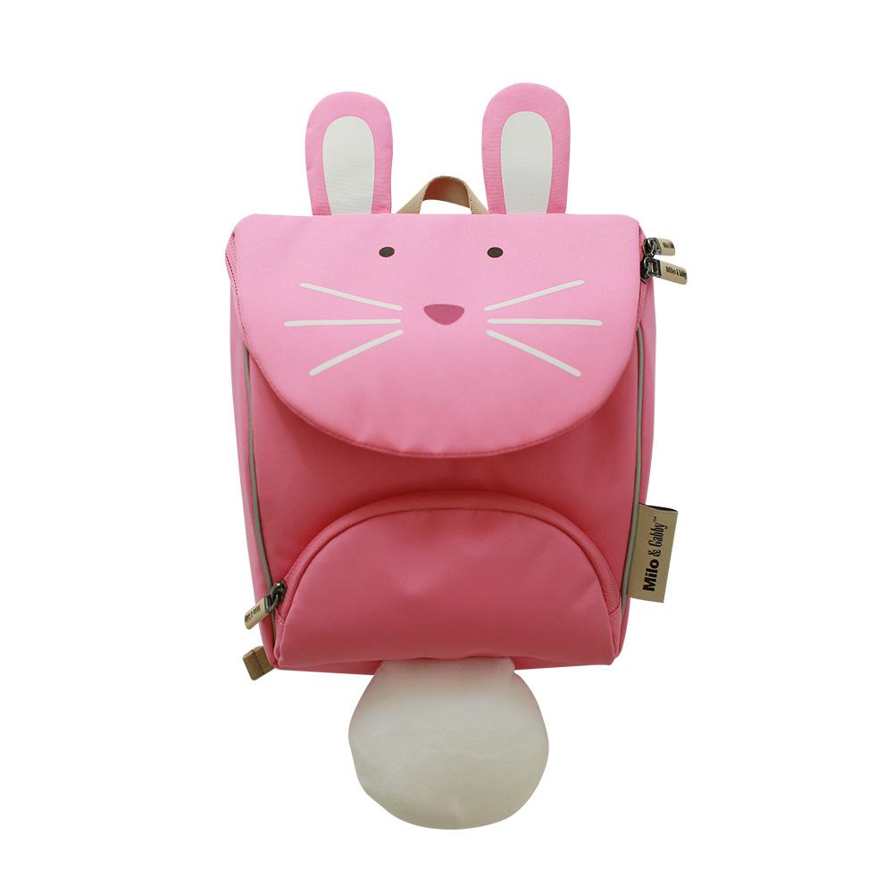 Milo&&Gabby 動物好朋友 超吸睛輕量型小童書包 LOLA兔兔