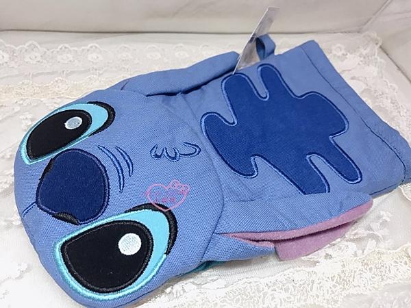 小花花日本精品迪士尼史迪奇立體大嘴巴造型隔熱手套防熱手套 居家收藏必備樂園限定96518205
