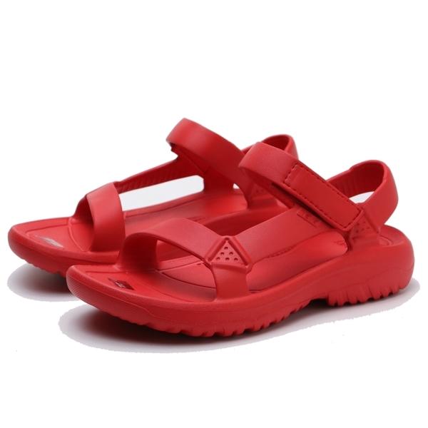 TEVA 全紅 防水 黏帶 運動女鞋   TV1102390FYR
