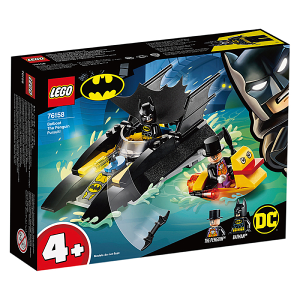 樂高積木Lego 76158 Batboat The Penguin Pursuit!