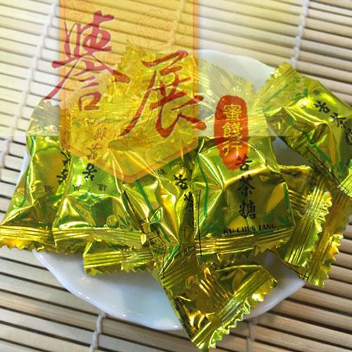 【譽展蜜餞】雄風苦茶糖 特價600g/130元