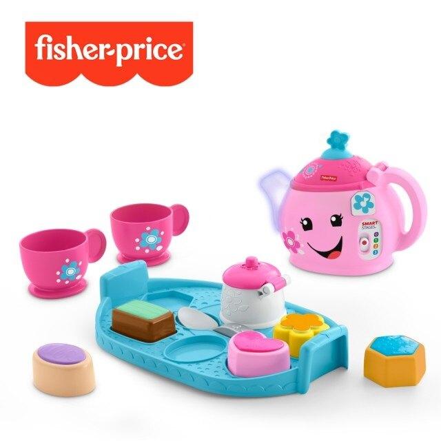 Fisher-Price 費雪 智慧學習甜美禮儀茶具組★愛兒麗婦幼用品★